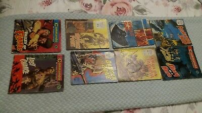 JOBLOT Selection of War / Battle and Commando Picture library Magazines