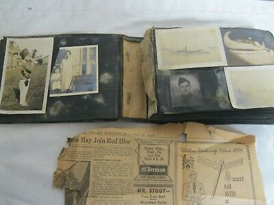 Estate Sale Antique 100+ Pictures Late 1800S+ Family Photo Album Black & White