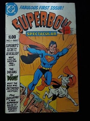 Superboy No. 1 1980 DC Comic First Issue F
