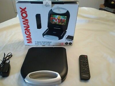 CD and DVD player, portable, Magnavox,  new, excellent condition