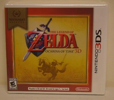 New! The Legend of Zelda: Ocarina of Time 3D [Nintendo Selects](3DS, 2016)