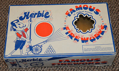 Herbie Famous Fireworks empty assortment box DOT South Carolina