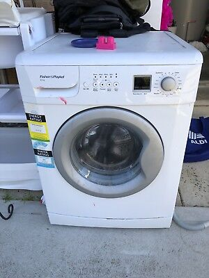 Fisher Paykel washing machine 8kg Front Loader Read Descibtion
