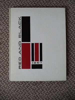 Vintage 1967 Red & Black Glens Falls New York High School Year Book-More Avail.!