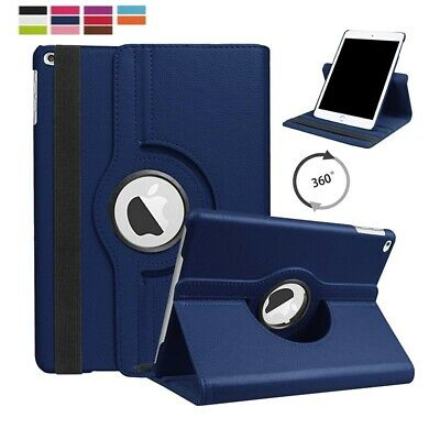 New 360 Degree Rotating Stand Case Cover For Apple iPad 9.7 inch 2017 2018