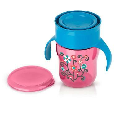 Philips AVENT 9 Ounce Natural Drinking Cup - Pink 2PC