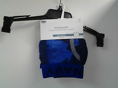 Old Navy Boys Boxer Brief Size XL Blue with Sky & Moon Elastic Waistband