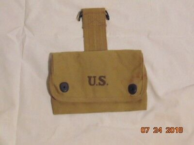 WWI Model of 1916, Pouch for Small Articles. Marked and dated OMO 1917