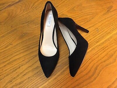 Cole Haan Grand Os Suede Pumps Heel Shoes New Size 8