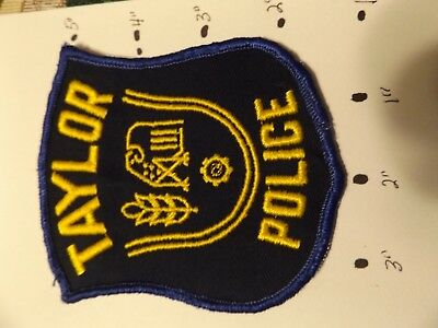 Taylor Michigan Police Patch