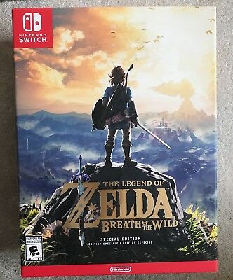 Nintendo Switch The Legend of Zelda Breath of the Wild Special Edition BRAND NEW