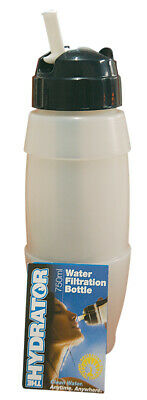 Seychelle's Water Filter Bottle Ionic-Adsorption Micro-Filtration Technology