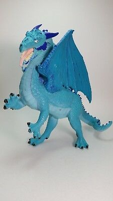 Vintage Rare Blue 1995 Dragon Of St George Crafted By Shadowbox Inc,