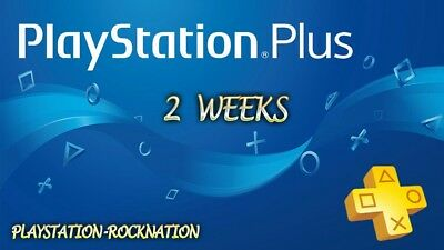 2 Weeks Psn Plus-Ps4-Ps3-Ps Vita - Playstation