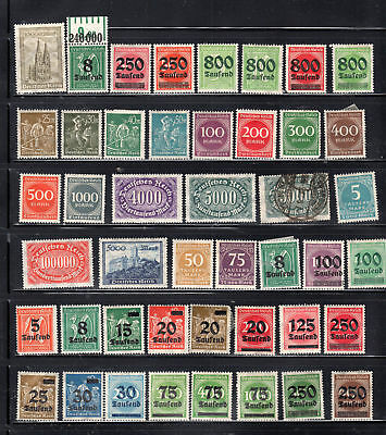 Germany  Stamps Canceled & Mint Hinged  Lot 28066