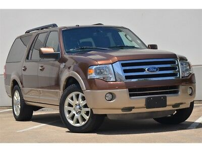 Expedition KING RANCH 2011 EXPEDITION KING RANCH EL NAV BK UP CAM S/ROOF HTD/AC SEATS FRESH TRADE