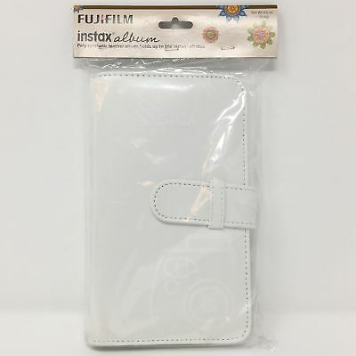 Fujifilm Instax Wallet Book Bound Style Album Holds 108 Images White 600015575