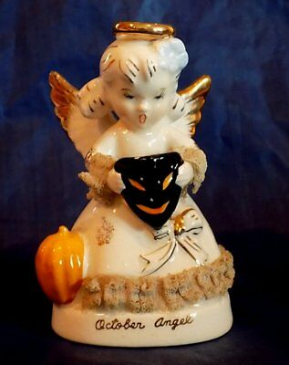 ART Japan OCTOBER ANGEL with PUMPKIN & SCARY MASK From 1950's-1960's