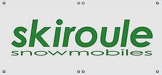 SKIROULE Snowmobile banner