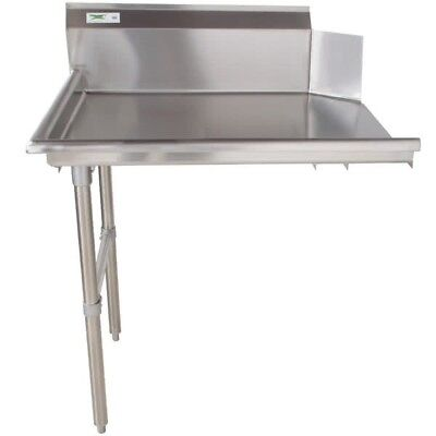 """Commercial Stainless Steel Right Side Clean 24"""" Dish Washer Table 2' Dishwashing"""