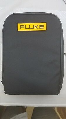 """Fluke C115 Soft Carry Case 9.5""""-8""""-3, With Strap Free Shipping!"""