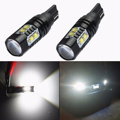 2x 50W Cree 921 912 T10 T15 Led 6000K Hid Bianco Backup Luci Retromarcia