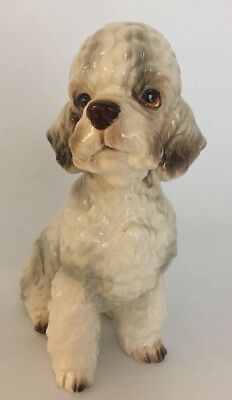 Shafford Japan Large Vintage Poodle Dog figurine Porcelain It/148