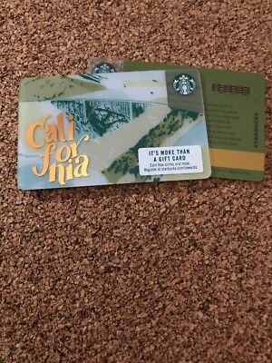 Starbucks City Card California 2018 New Pin Intact #6156