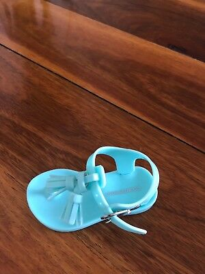 country road baby girl jelly sandals