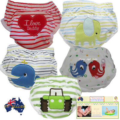 5 Pack Boys Large Potty Toilet Training Pants