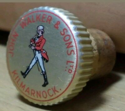 John Walker & Sons Ltd, Kilmarnock  Lid with Cork- Collectible