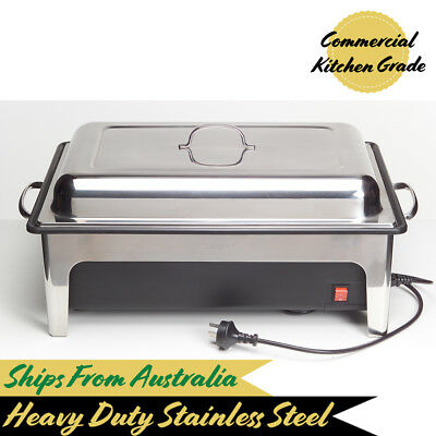Electric Chafing Dish w Cover, Chafer 1/1 Food Pan, Sunnex, Buffet Warmer