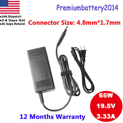 AC Adapter Battery Charger For HP ENVY TouchSmart 4-1215dx 4t-1200 Ultrabook 65W