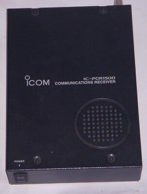Icom IC-PCR1500 Communications Receiver. Japanese Version.
