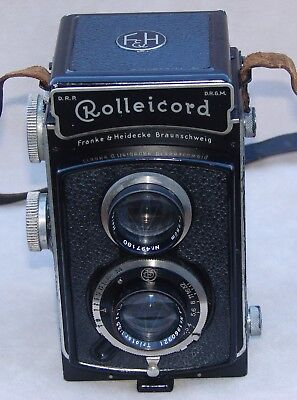 Rolleicord  Vintage Model 1 with Zeiss Lens and Compur Shutter circa 1935