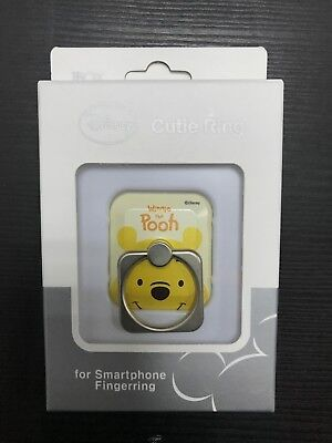 Best Selling Disney Cutie Ring for Cell Phone - Winnie the Pooh Made in Korea