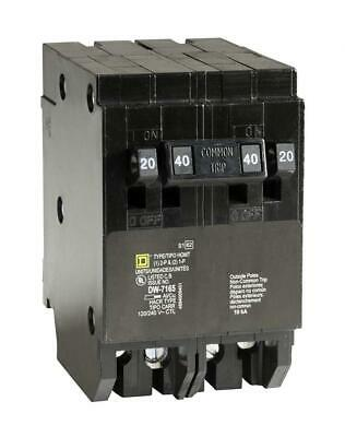 Square D by Schneider Electric HOMT2020240CP Homeline 2-20-Amp Single-Pole...