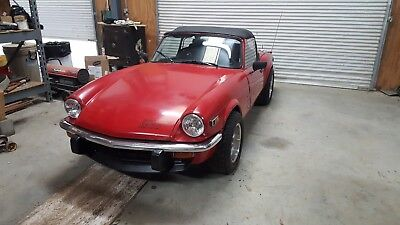 1979 Triumph Spitfire  1979 Triumph Spitfire + thousands of parts to restore new, oem, and custom