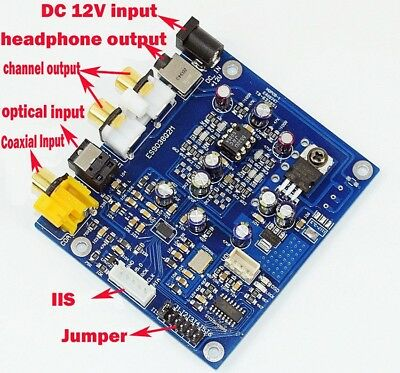 Assemble Es9038q2m I2s Dsd Fiber Coaxial Input Decoder Board Dac Audio Finished Board Be Friendly In Use Dac Back To Search Resultsconsumer Electronics