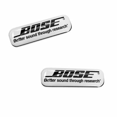2 Domed Stickers Decals Auto Moto Motorsport Bose Car Audio Speakers CD KS 106