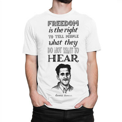 George Orwell Quotes Classic T-Shirt, Men's Women's All Sizes