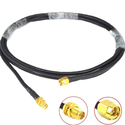 WIFI Antenna Cable 2M SMA Male to Female RG58 50 ohm Coaxial Pigtail For LTE MIM
