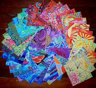 45 Kaffe Fassett Quilting Patchwork Cotton Fabric 5 inch Squares #81b