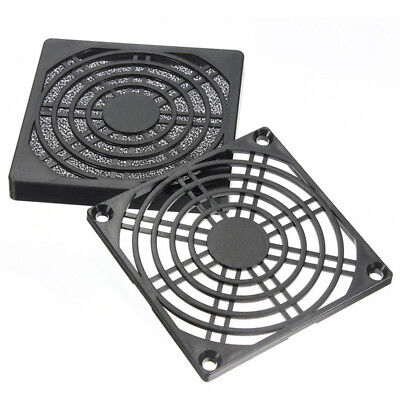 Dustproof 80mm Case Fan Dust Filter Guard Grill Protector Cover PC Computer KQ