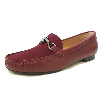 Capolloni Womens Ladies Italian Leather Driving Loafers Smart Moccasins Shoes 4
