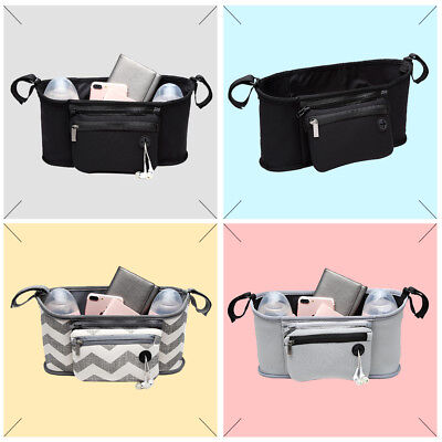 Sold Nappy Storage Basket Diaper Changing Baby Stroller Hanging Bag Convenient