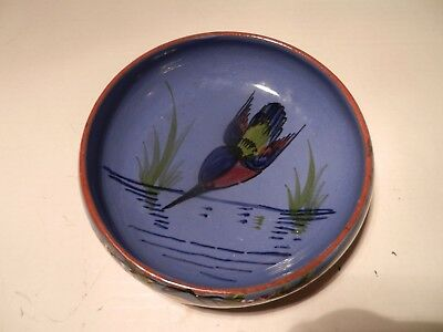 Longpark, Diving Kingfisher, Bowl/dish ,15 Cm