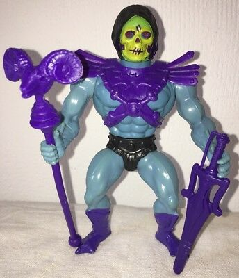 MOTU Skeletor Made in France Mattel Inc 1981 Vintage Masters of the Universe