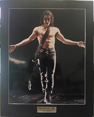 The Crow - Brandon Lee Print Matt Only (unframed)