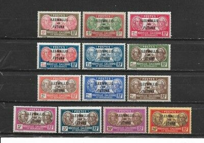 WALLIS & FUTUNA Islands 1930. Beautiful series 13 new stamps*     (4778)
